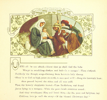 "Image from ""The Coming of Father Christmas"", 1894"